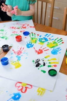 Детская роспись своими руками