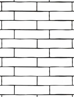 白いレンガの壁。白いセラミックタイルの背景。