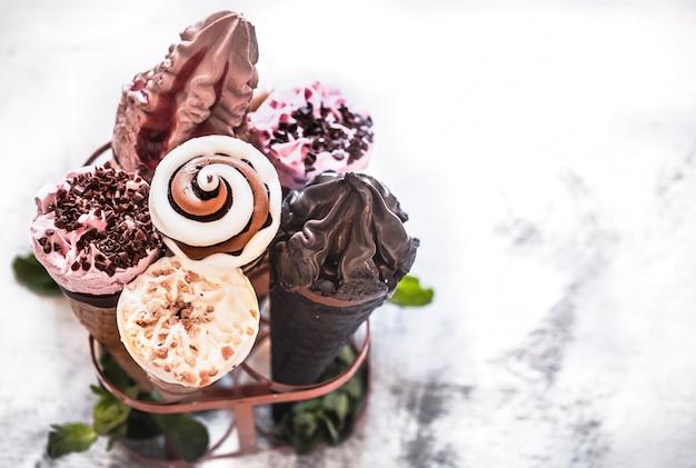 Рожок мороженого