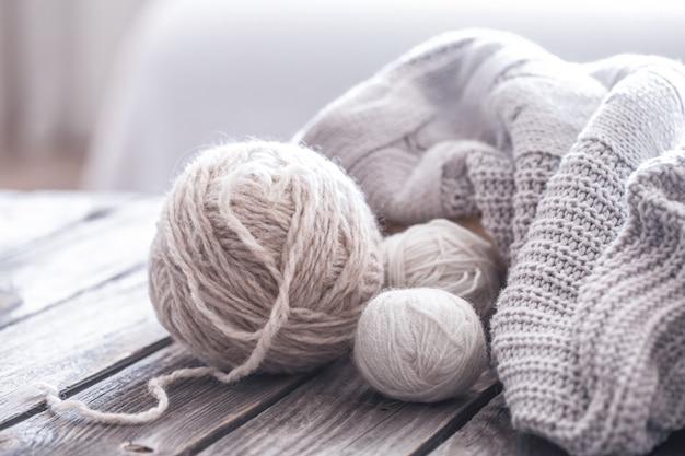 家庭の趣味、編み物