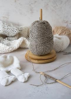 Любимое хобби вязание спицами и крючком