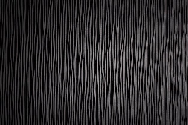 Деревянная черная волнистая текстура поверхности.