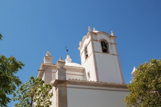 古いポルトガルのカトリック教会の詳細。
