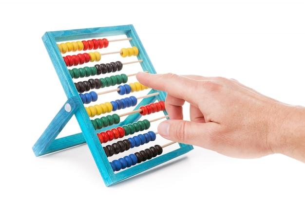 Разноцветные детские счеты