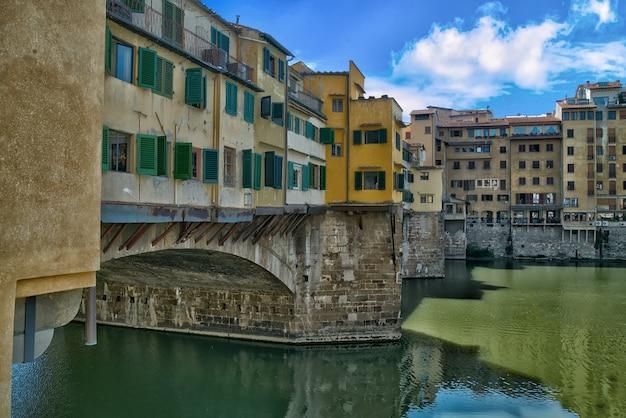 ヴェッキオ橋、フィレンツェ、イタリア