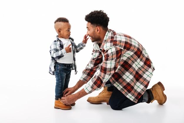 Портрет молодого африканского человека