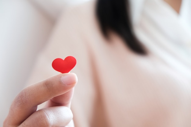 バレンタインの日の愛の概念。