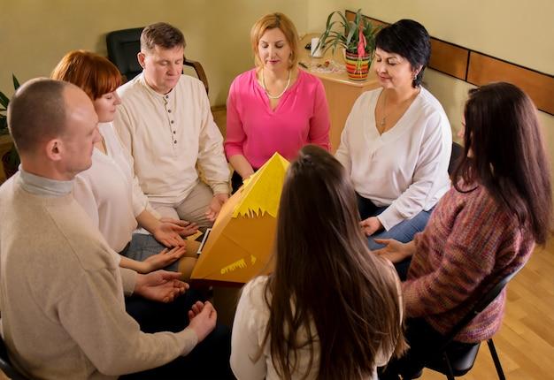 瞑想グループ