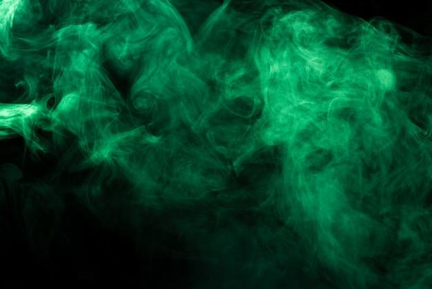 Зеленая текстура дыма