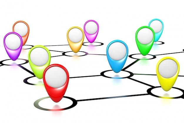 接続マップ