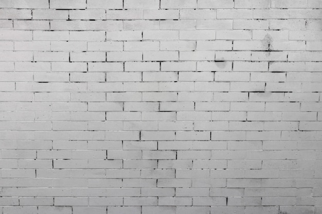 Белая деревенская текстура старой кирпичной стены