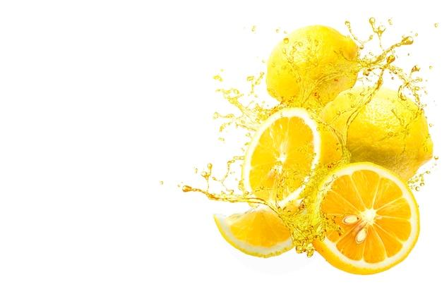 Всплеск лимонного сока