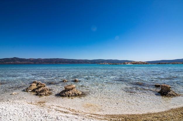 トルコのモルディブサルダ湖、ブルドゥール
