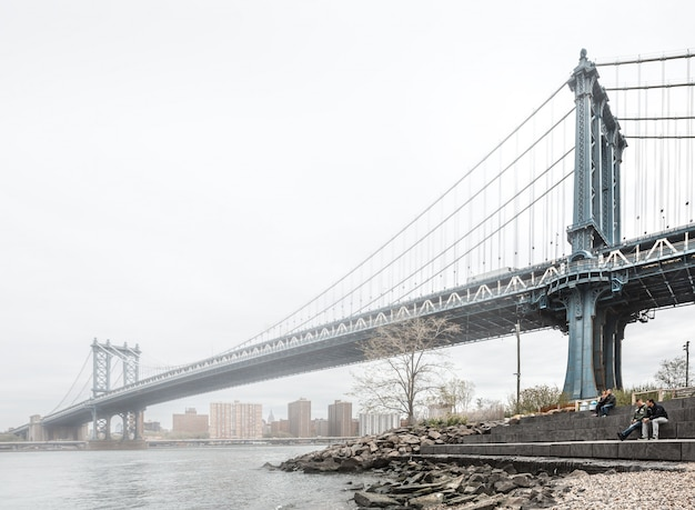 マンハッタン橋、ニューヨーク、アメリカ