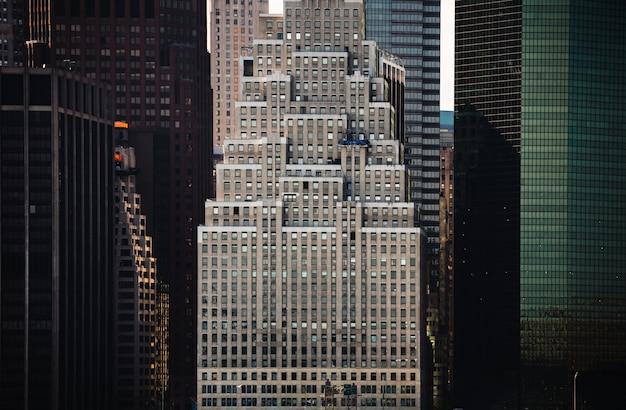 マンハッタンの近代建築。