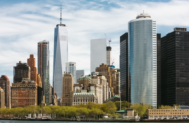 ローワーマンハッタンの高層ビル