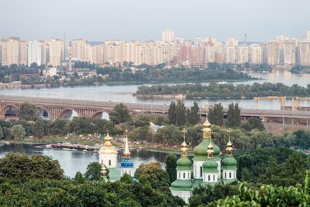 都市キエフのパノラマ