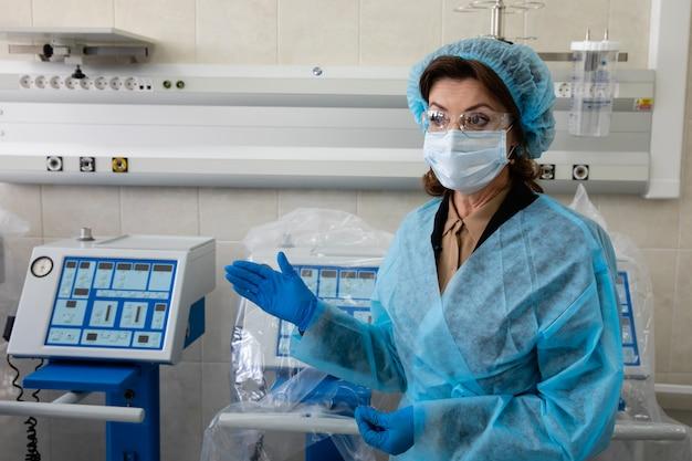ウクライナでのコロナウイルス流行の準備