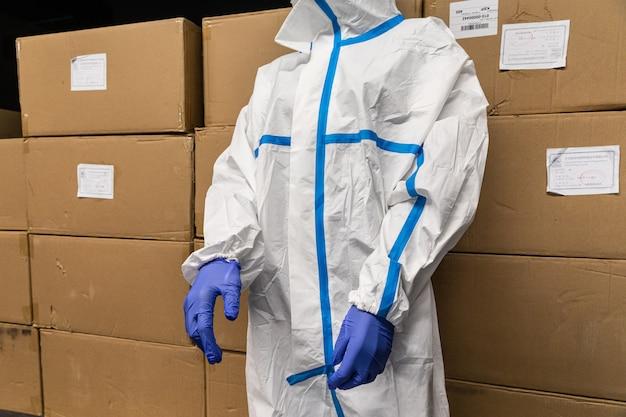 Защитные костюмы для украинских врачей