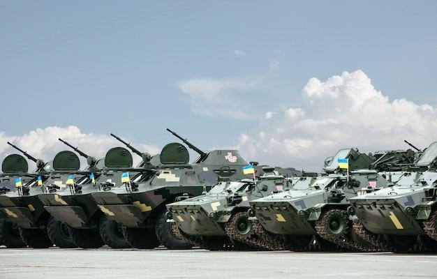 ウクライナの軍隊の武器と軍事機器