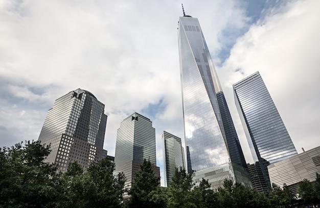 マンハッタンの近代建築