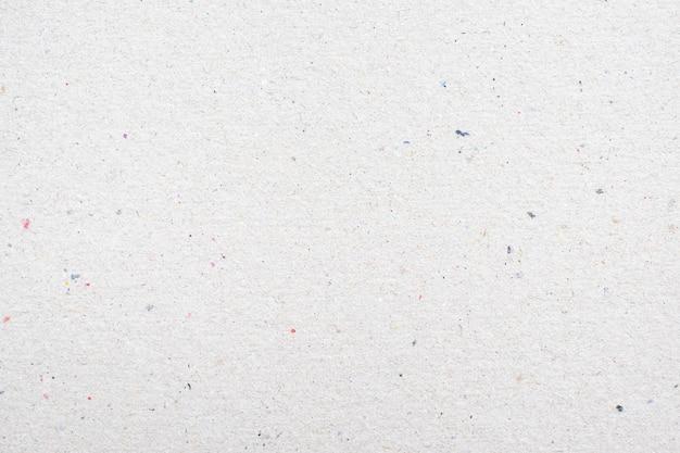 白のリサイクル紙テクスチャ背景。