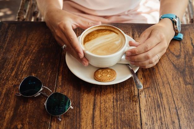 Утро с кофе.
