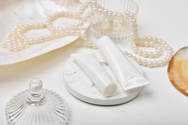 Контейнеры для косметических бутылок с экстрактом морской жемчужины
