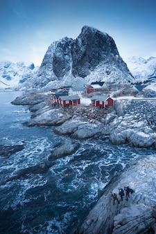 Рыбацкая деревня на лофотенских островах