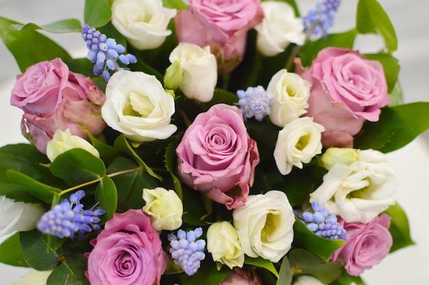 花の背景。美しい花の壁紙。