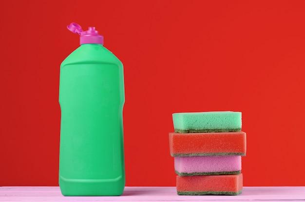 食器洗いのボトル