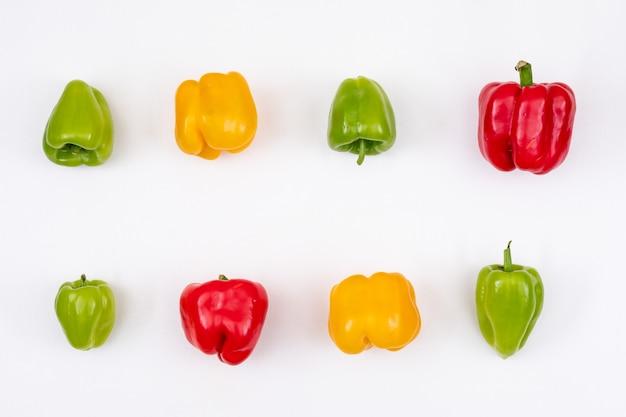 Разноцветные сладкие перцы