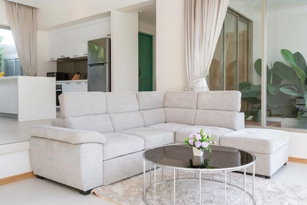 ヴィラ、家、家、コンドミニアム、アパートのリビングルームのインテリアとエクステリアデザイン