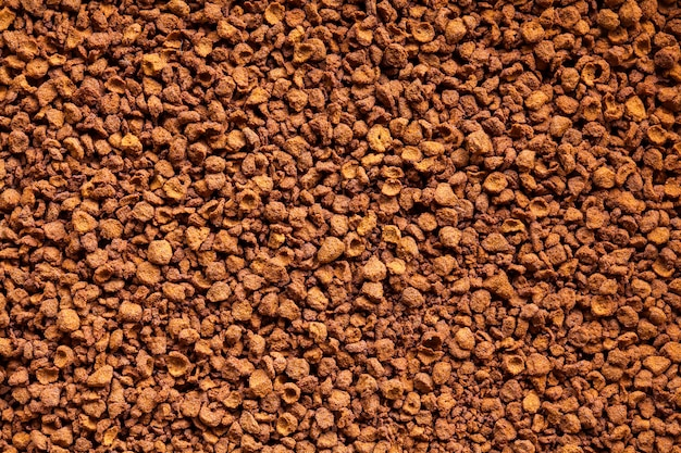 可溶性コーヒーパウダーテクスチャ背景