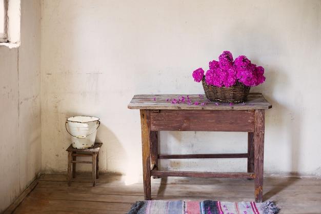 Старая деревенская комната