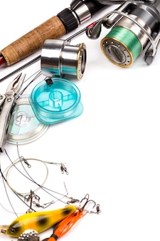 釣り道具-ロッド、リール、ライン、ルアー