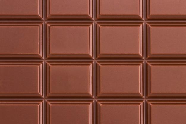 ミルクチョコレートバーのテクスチャ