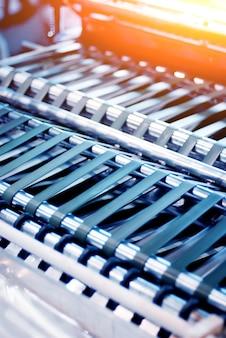 Автоматизированная производственная линия на заводе