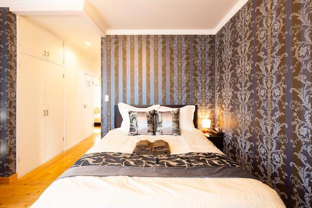 Роскошная спальня или номер в отеле