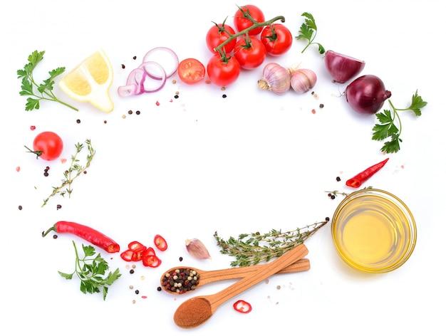 スパイスと野菜のオリーブオイル