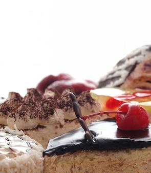 甘いデザートケーキ