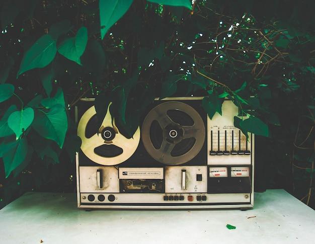 録音されたヴィンテージテープ