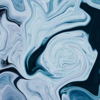 Смешивание масляной краски серого и черного цветов - идеальный крутой художественный фон или обои