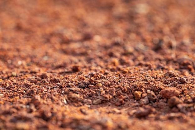 茶色の砂のテクスチャ