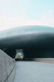 東大門デザインプラザの通路
