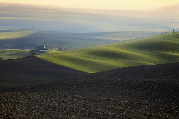 田舎の静けさ