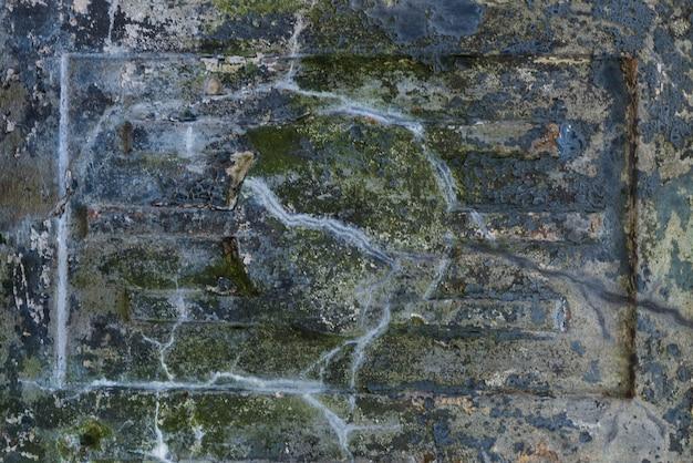 古い石造りの背景、グランジテクスチャ