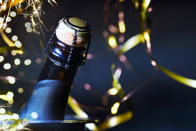 Празднование нового года фон