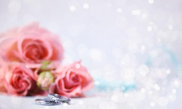 優しいバラ、ロマンチックなスタイル
