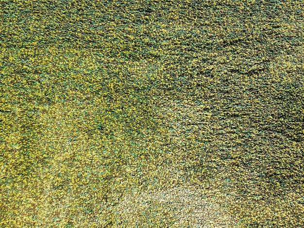 緑の敷物の完全なフレームテクスチャ背景